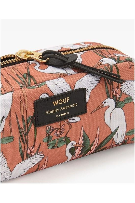 Wouf Accessoire Textile Small Beauty Sunset Lagoon Orange/Blanc