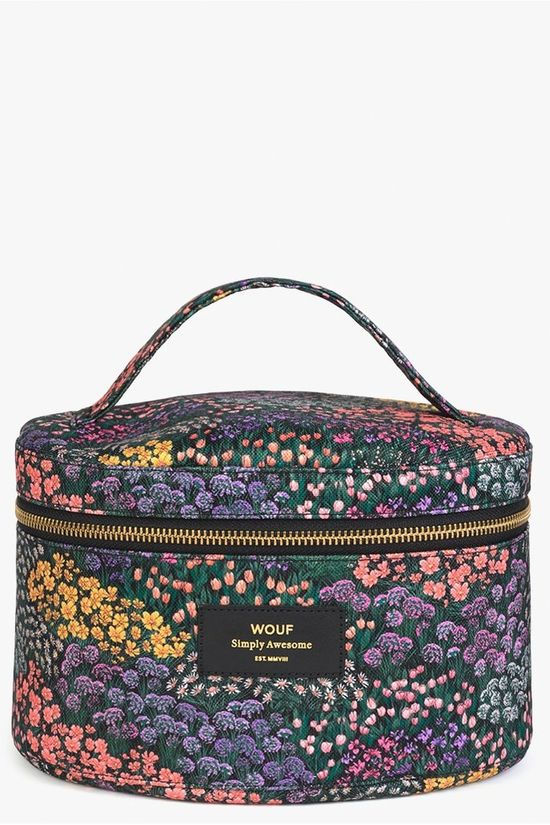 Wouf Textiel Accessoire XL Beauty Case Meadow Collection Assorti / Gemengd/Ass. Bloem