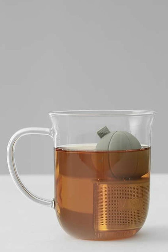 VIVA SCANDINAVIA Ustensiles De Cuisine Infusion Floating Tea Strainer Gris Clair