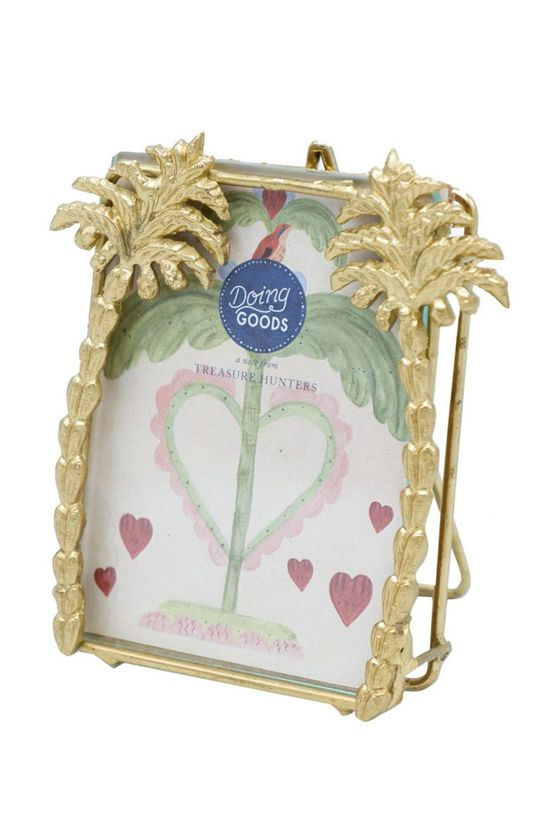 Doing Goods Cadre/Photo Heritage Palm Frame Small Or