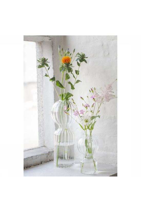 Serax Vase Iki Doll 10x25cm Pas de couleur / Transparent