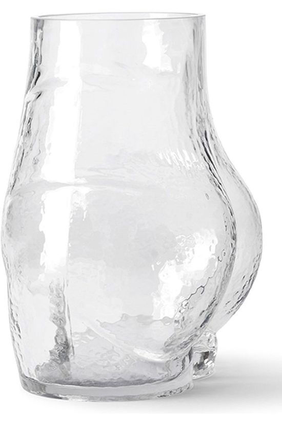 HK Living Vase Glass Bum L20 x B20 x H23 cm Pas de couleur / Transparent