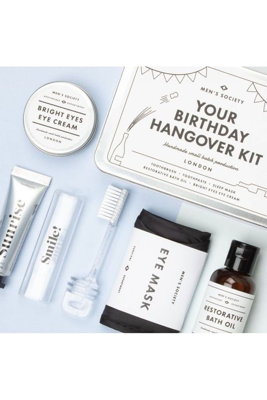 Men's Society Woonaccessoire Hangover Recovery Kit Zilver/Wit
