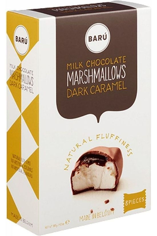 Baru Marshmallows Milk Chocolate Dark Caramel Geen kleur / Transparant