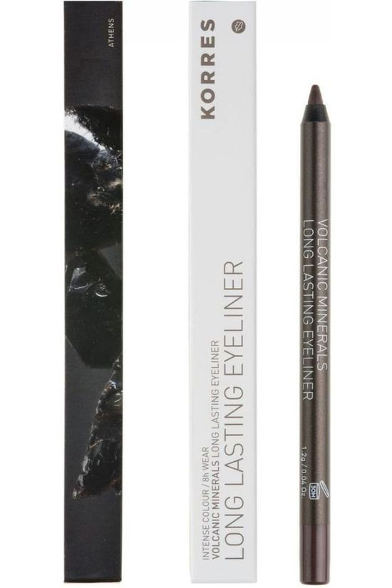 Korres Maquillage Eye Pencil Volcanic Minerals Brun moyen