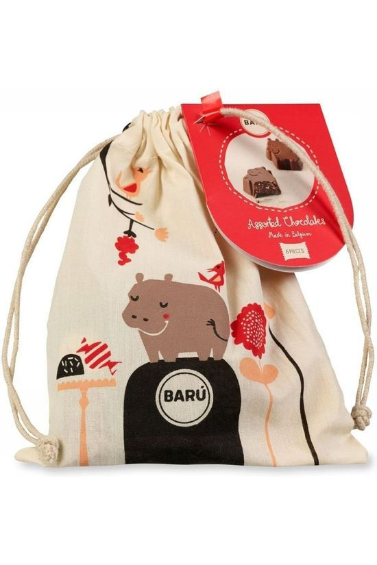 Baru Nourriture String Bag Hippo Assorted Flavours Pas de couleur / Transparent