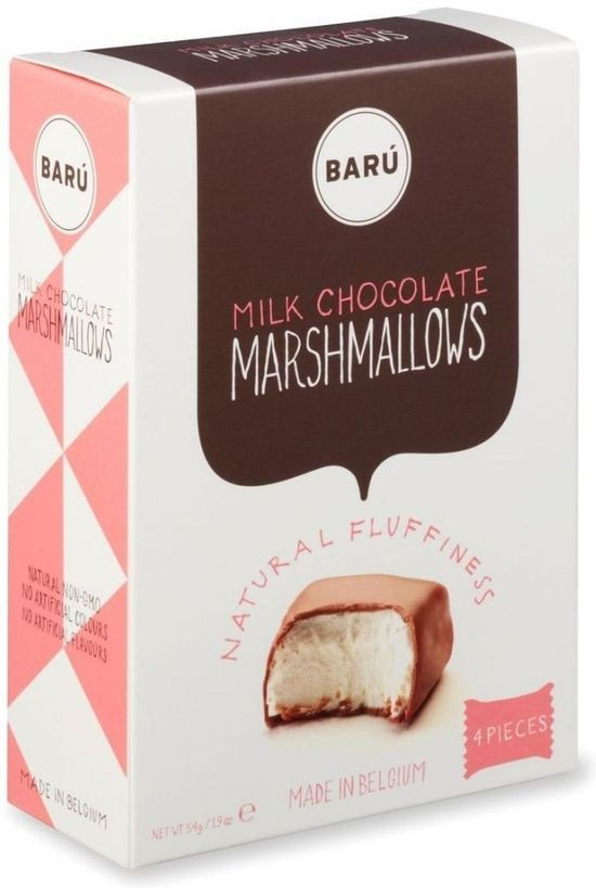 Baru Milk Chocolate Marshmallows Pas de couleur / Transparent