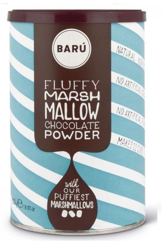 Baru Drinking Powder Fluffy Marshmallow Choco Power Pas de couleur / Transparent