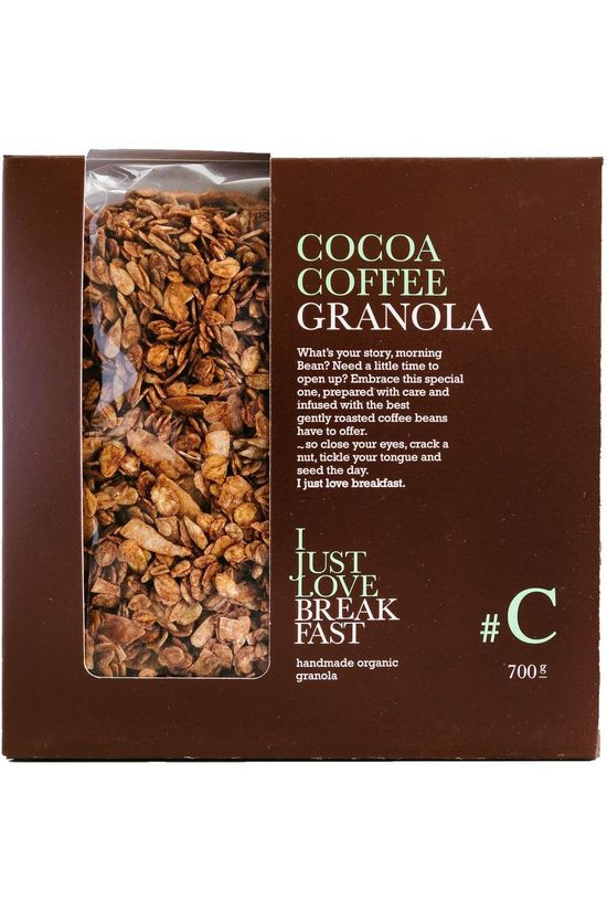 I Just Love Breakfast Nourriture Granola Cacao 700gr Pas de couleur / Transparent