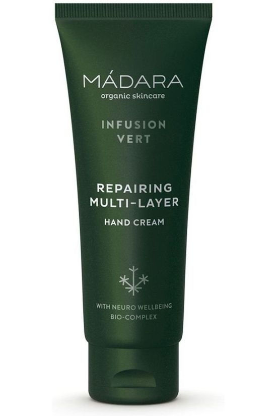Madara Cosmetics Hand Cream Infusion Vert Repairing Multi Layer Pas de couleur / Transparent