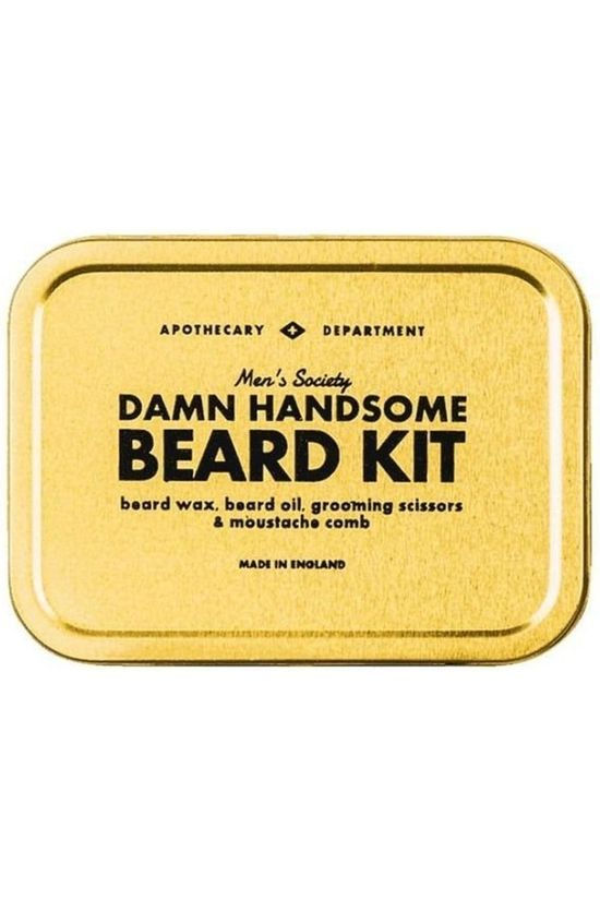 Men's Society Damn Handsome Beard Kit Or