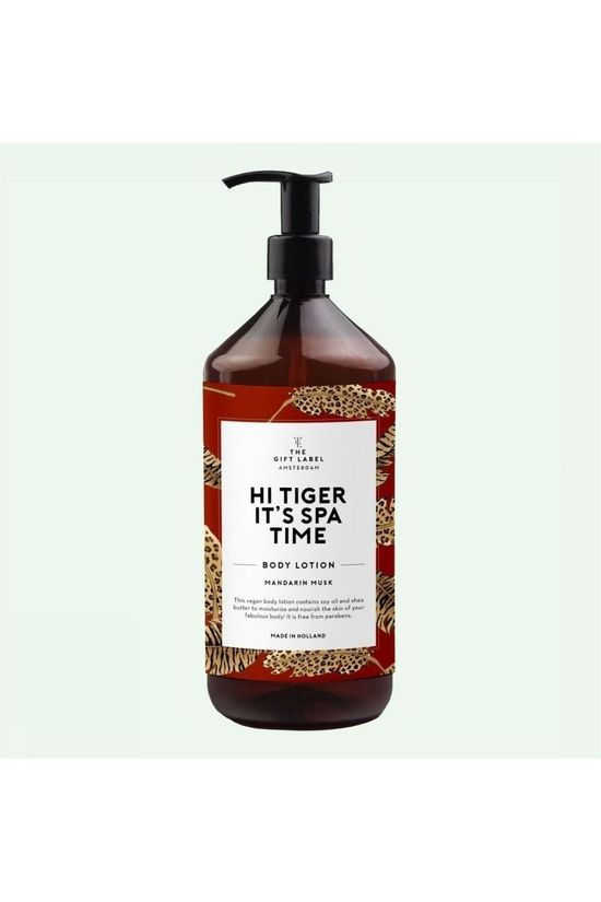 The Gift Label Lotion Body Hi Tiger Middenrood/Middengeel