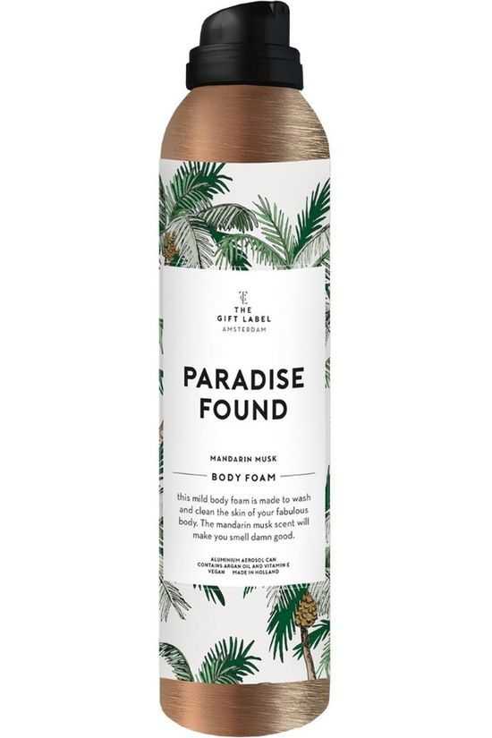 The Gift Label Savon Body Foam Woman Paradise Found Pas de couleur