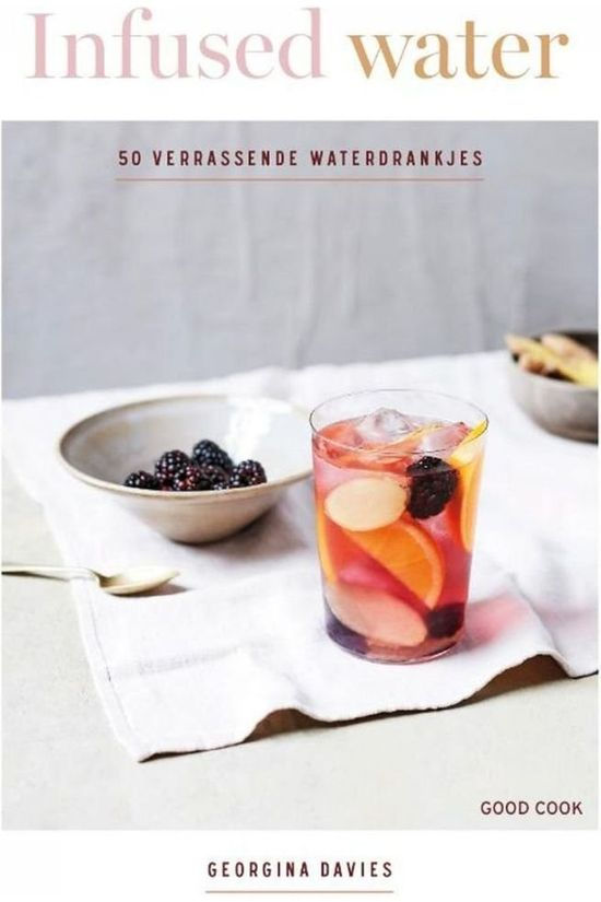 Good Cook Boek Infused Water Geen kleur / Transparant