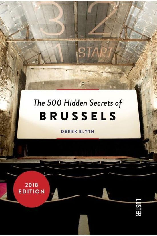 Luster Engelstalig Boek The 500 Hidden Secrets of Brussels Geen kleur / Transparant