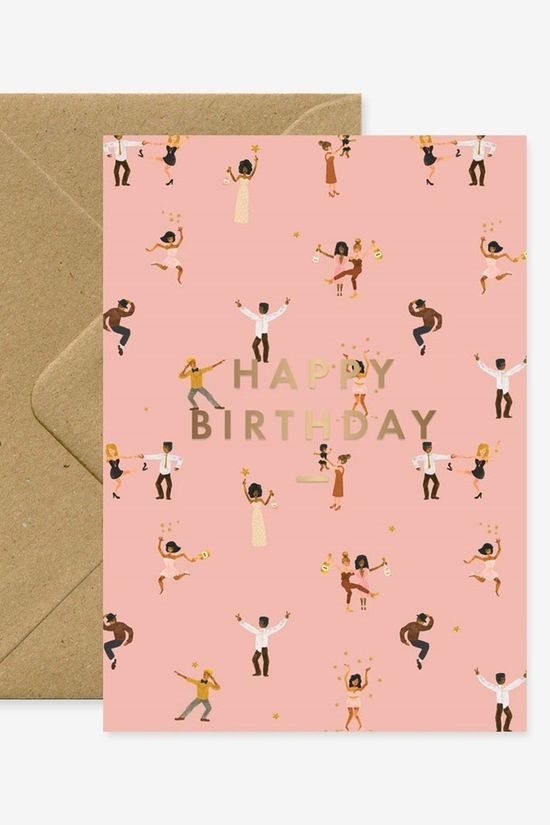 All the ways to say Carte De Voeux Birthday Dancers Pas de couleur