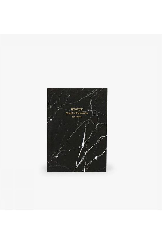 Wouf Papierwaren notebook A6 Zwart