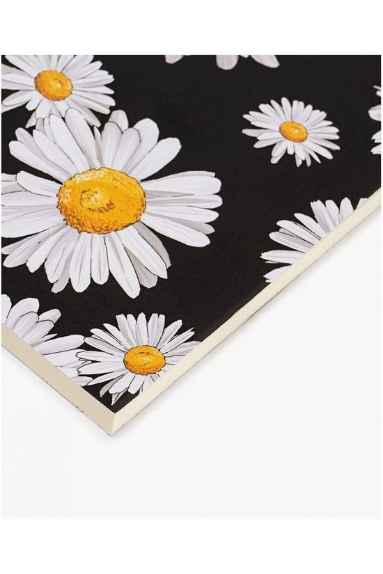 Wouf Papeterie A5 Notebook Daisy Rose Saumon/Noir (Jeans)