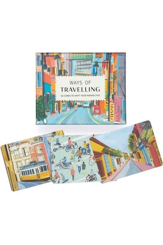 Laurence King Bureau Accessoire Ways Of Travelling Geen kleur
