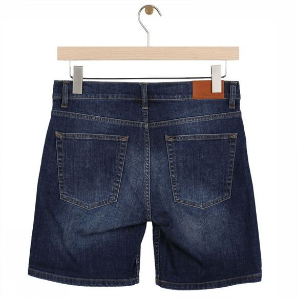 Knowledge Cotton Apparel Short 50104 Donkerblauw