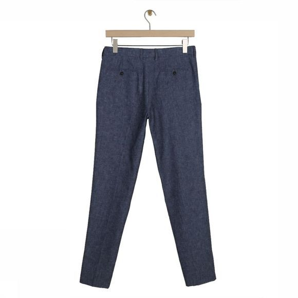 Knowledge Cotton Apparel Pantalon 70083 Bleu Clair