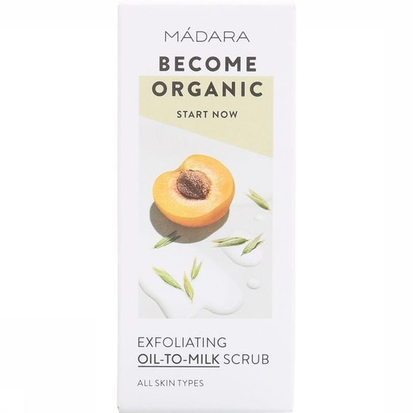 Madara Cosmetics GOMMAGE/LOTION/HUILE MACO EXFOLIATING OIL TO MILK SCRUB 12.5 ML exceptions