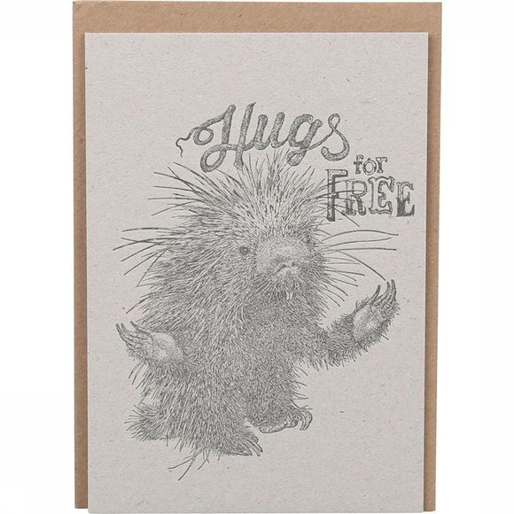 CARTE DE VOEUX PAP HUGS FOR FREE
