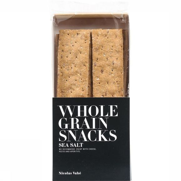 Nicolas Vahé Wholegrain Crackers Sea Salt Pas de couleur