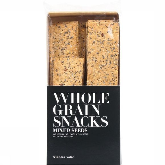 Nicolas Vahé Wholegrain Crackers Mixed Seeds Geen kleur