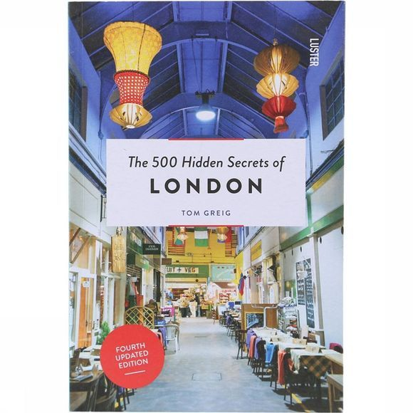 Luster Boek The 500 Hidden Secrets Of London Geen kleur