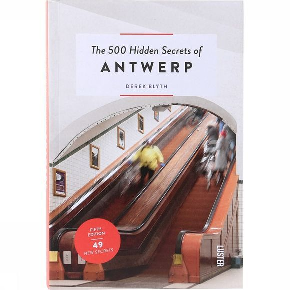 Luster Livre en Néerlandais The 500 Hidden Secrets Of Antwerp Pas de couleur