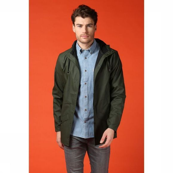 Rains Jas Jacket Middenkaki