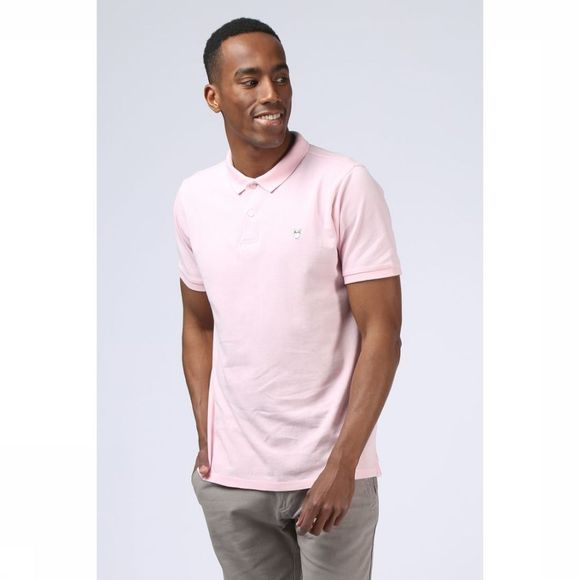 Knowledge Cotton Apparel Polo 20040 Rose Clair