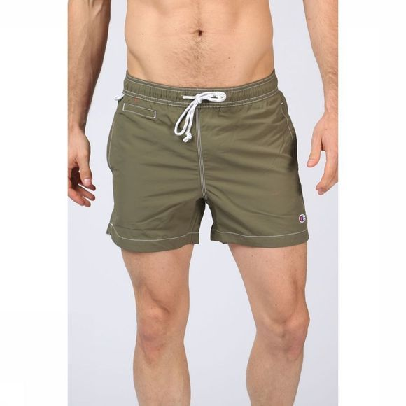 Champion Zwemshort Pacific Sand Nylon Basic Short Donkerkaki