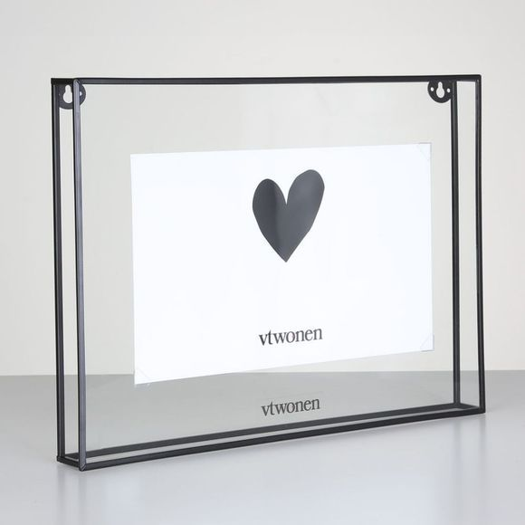 Kader Black Metal Photo Framerectangular L