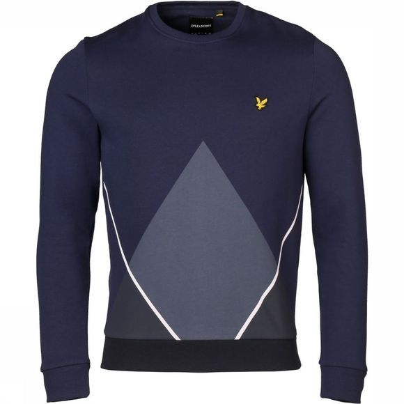 Lyle & Scott Trui 1901-Ml1014V Donkerblauw