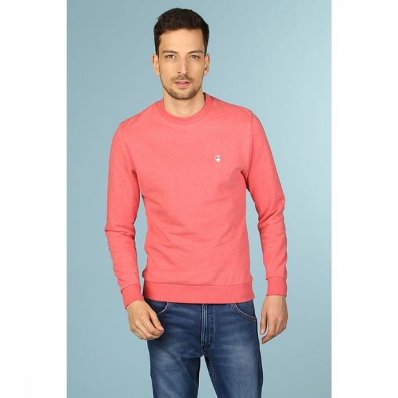 Knowledge Cotton Apparel Pull 30163 Rouge Clair