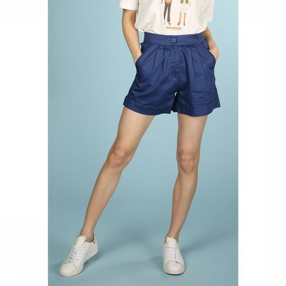 Thinking Mu Short Blue Mama Middenblauw