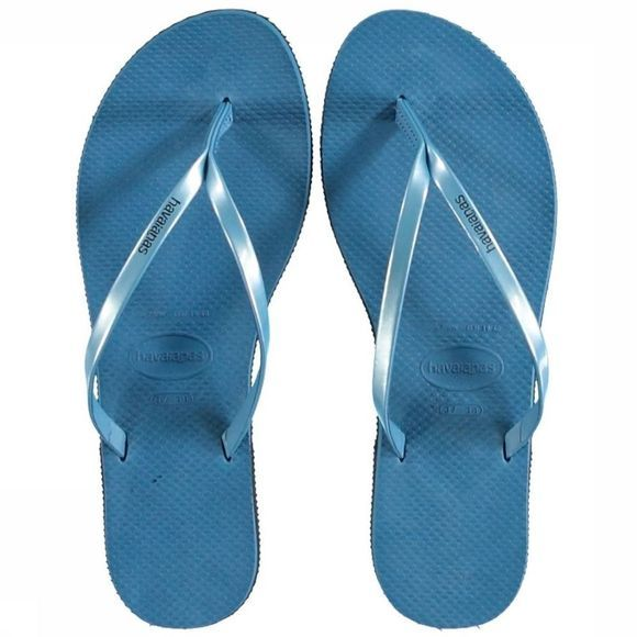 Havaianas Tongs You Metallic Bleu