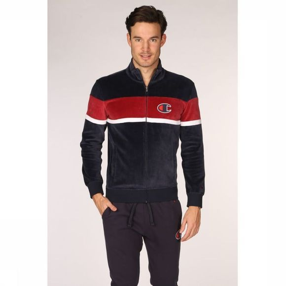 Champion Cardigan 214025 Donkerblauw/Bordeaux