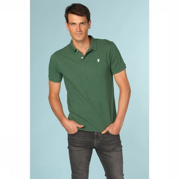Knowledge Cotton Apparel Polo 20040 Vert Foncé