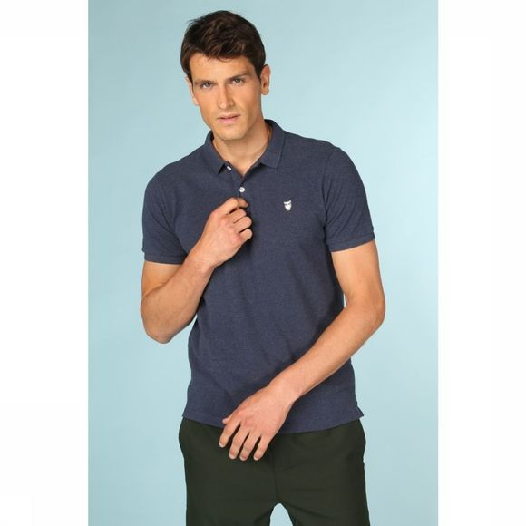 Knowledge Cotton Apparel Polo 20040 Donkerblauw
