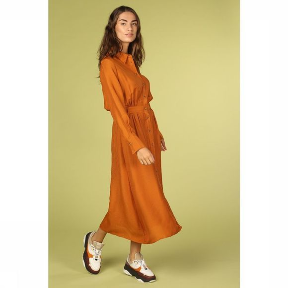 FRNCH Robe Adelicia Jaune Foncé