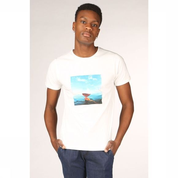 Bask in the Sun T-Shirt Fresh Wine Wit