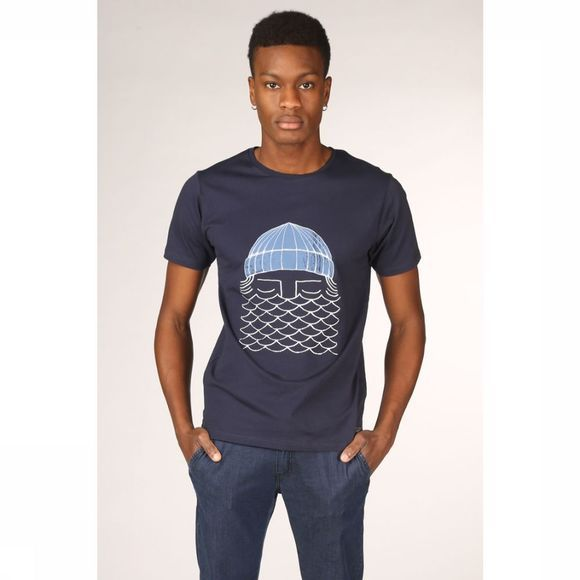 Bask in the Sun T-Shirt To The Sea Donkerblauw