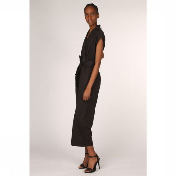 Thinking Mu Jumpsuit Black Malawi Zwart