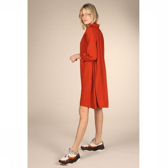 Orfeo Robe Page Rouge Foncé