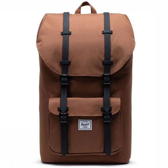 Herschel Supply Rugzak Little America Classics Middenbruin/Zwart