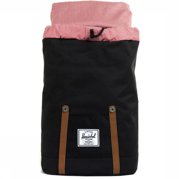 Herschel Supply Sac à Dos Retreat Noir/Brun