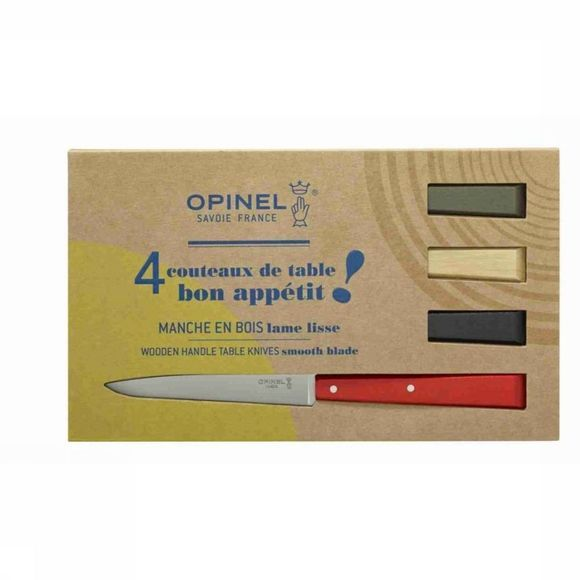 Opinel Mes Box Set Bon Appetit Loft 4-Delig Assortiment